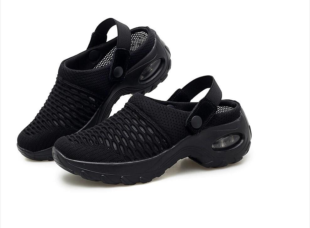 Premium Casual Comfy Women's Summer Mid-heel Sandals and Outdoor Walking Slippers