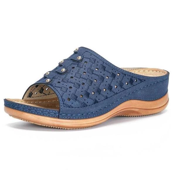 Premium Orthopedic Toe Sandals New Shoes Comfy Sole Casual Platform Summer Women Sandals Flip-flop Chancla Slippers