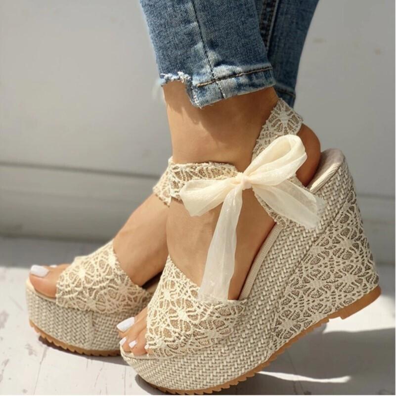 Summer Women Wedges Party Platform Sandals High Heels