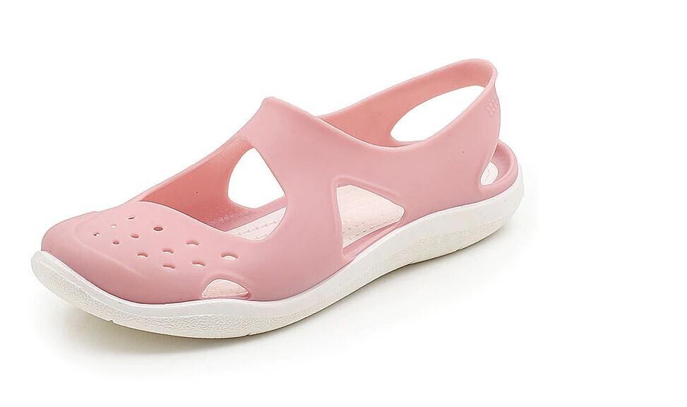 Beach Ladies Non-Slip Casual Orthopedic Jelly Cute Women Sandals Hollow Out Mesh Flats Beach Sandals