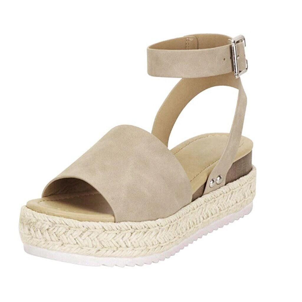 Women High Heels Platform Summer Cute Girl Sandals Design Gladiator Strappy Flip-flop Chancla Slippers