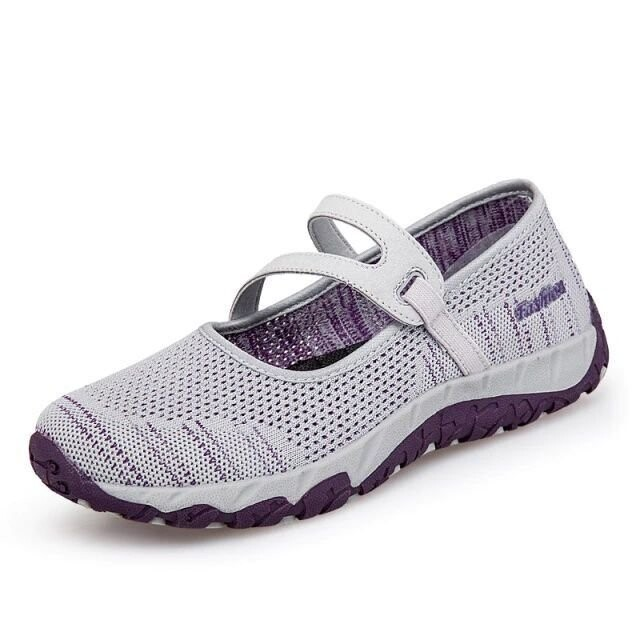 Comfortable Breathable Walking Shoes Slip on- Comfy Women Summer Sandals Flat Casual Shoes