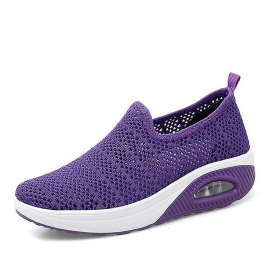 Comfy Breathable Orthopedic & Ultra Comfortable Shoes Lightweight Casual Vulcanized Swing Shoes
