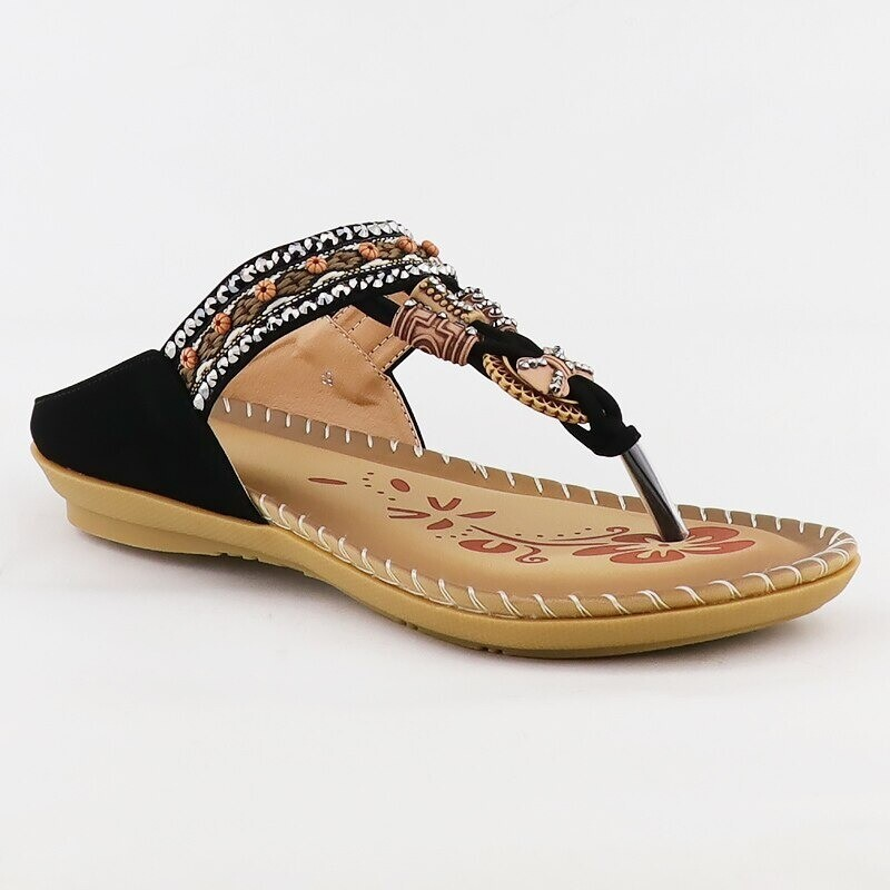 Women Retro Summer Embroidery Bohemian Style Wedges Comfortable Platform Sandals Design