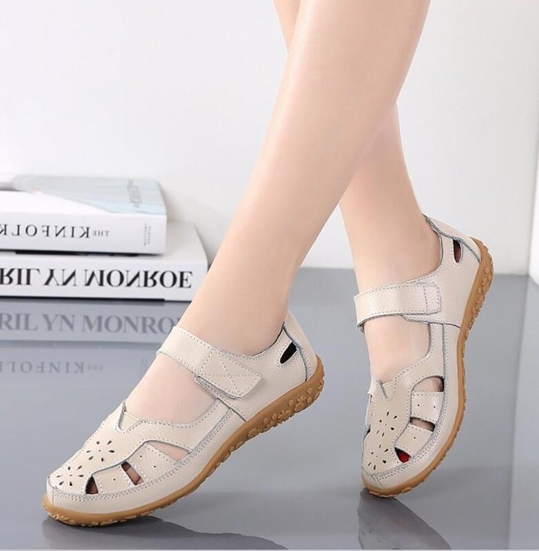 Split Buckle Casual Sandals For Women
