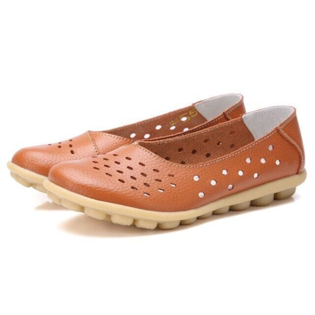 Women Flats Shoes Fashion Walking Ladies Comfortable Loafers Casual Style