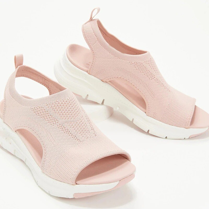 Women Summer Mesh Breathable Hollow Comfortable Casual Sandals Design