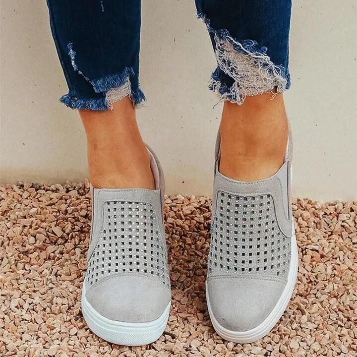 Women Unique Sparkling Design Comfortable Shoes
