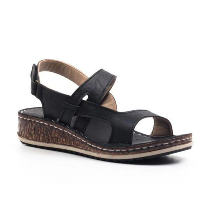 New Summer Women Open Toe Comfortable Sandals With Strap