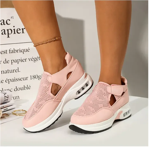 New Women Running Shoes Comfortable Mesh Casual Summer Sneakers Design