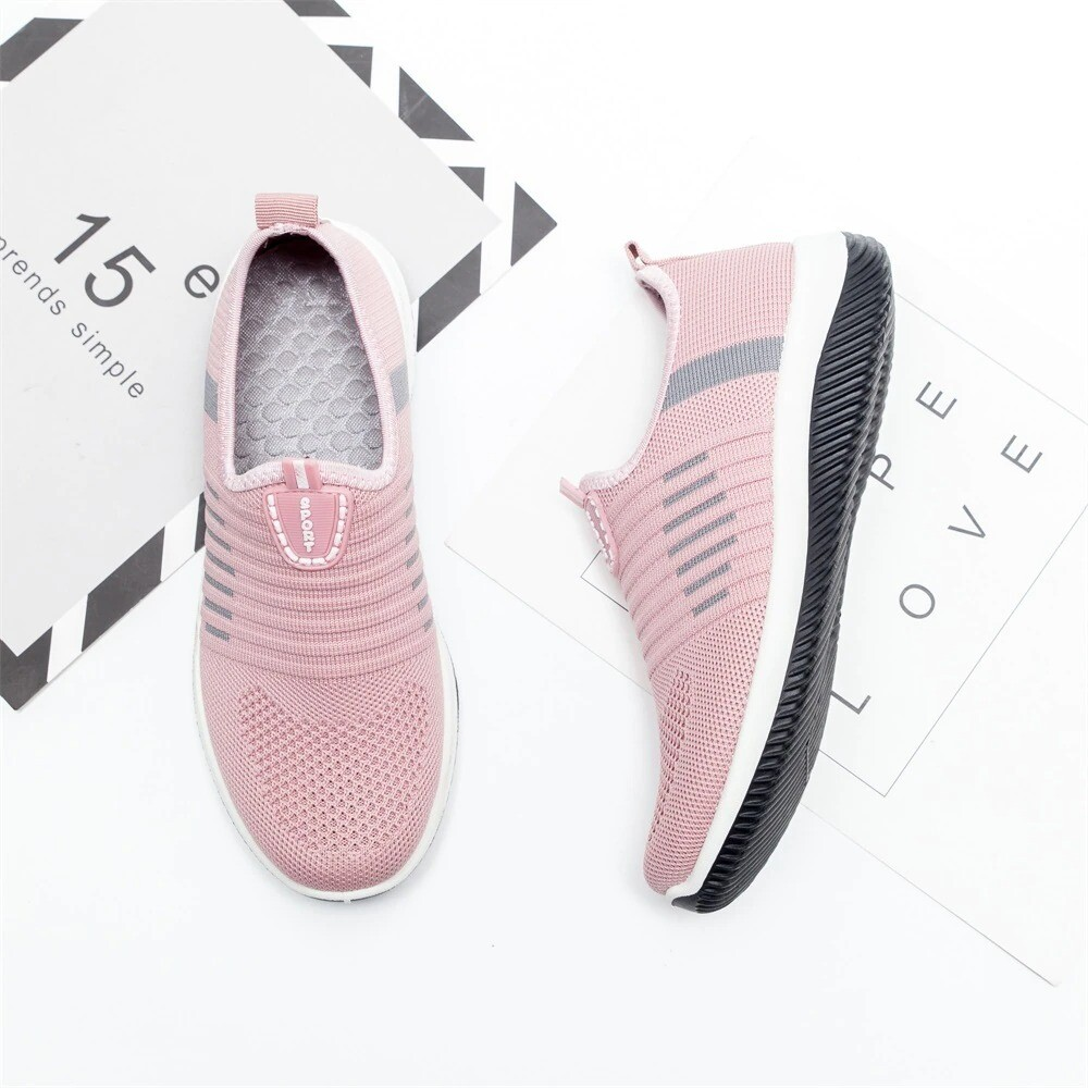 Women Mesh Breathable Casual Comfortable Summer Sporty Shoes