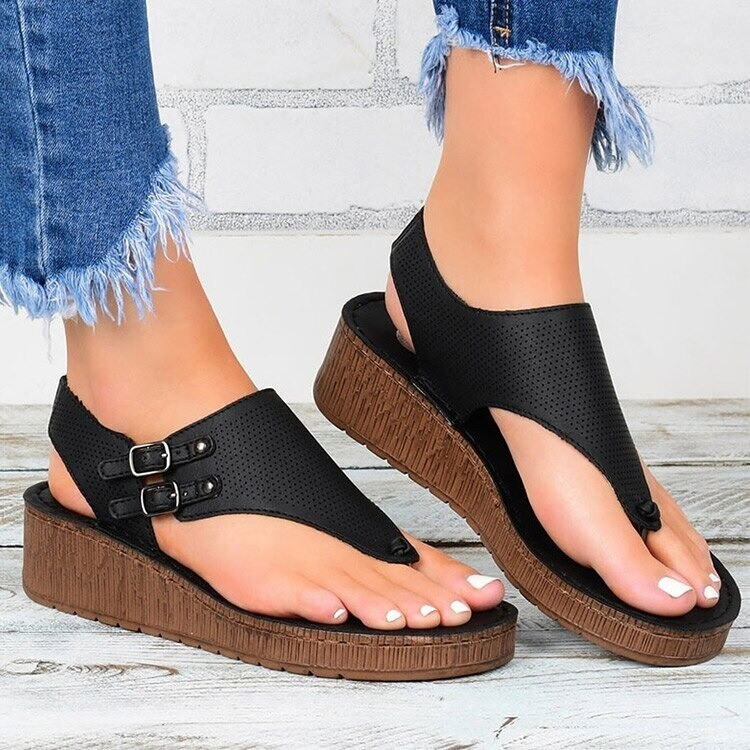 New Women Summer Comfortable Casual Open Toe Sandals Flip Flops