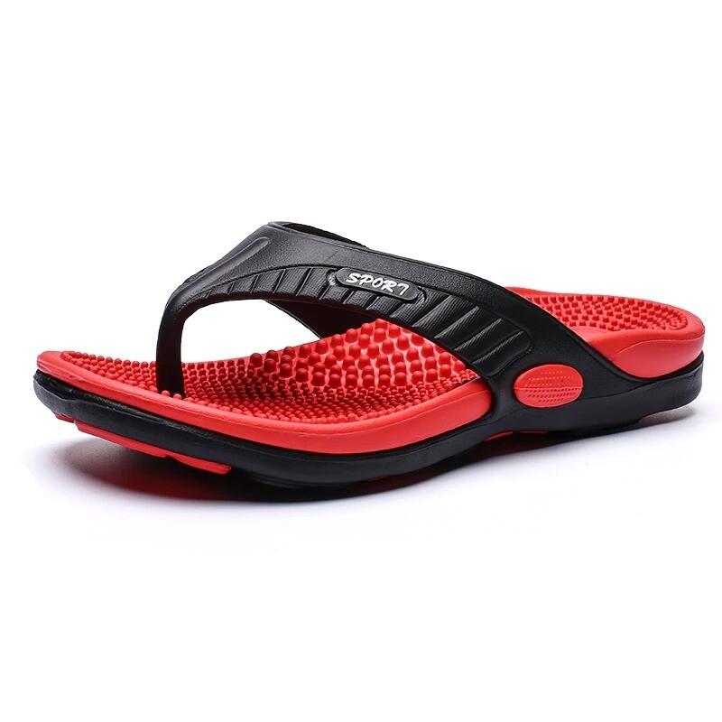 Massage Flip-flops Summer Men Slippers Beach Sandals Comfortable