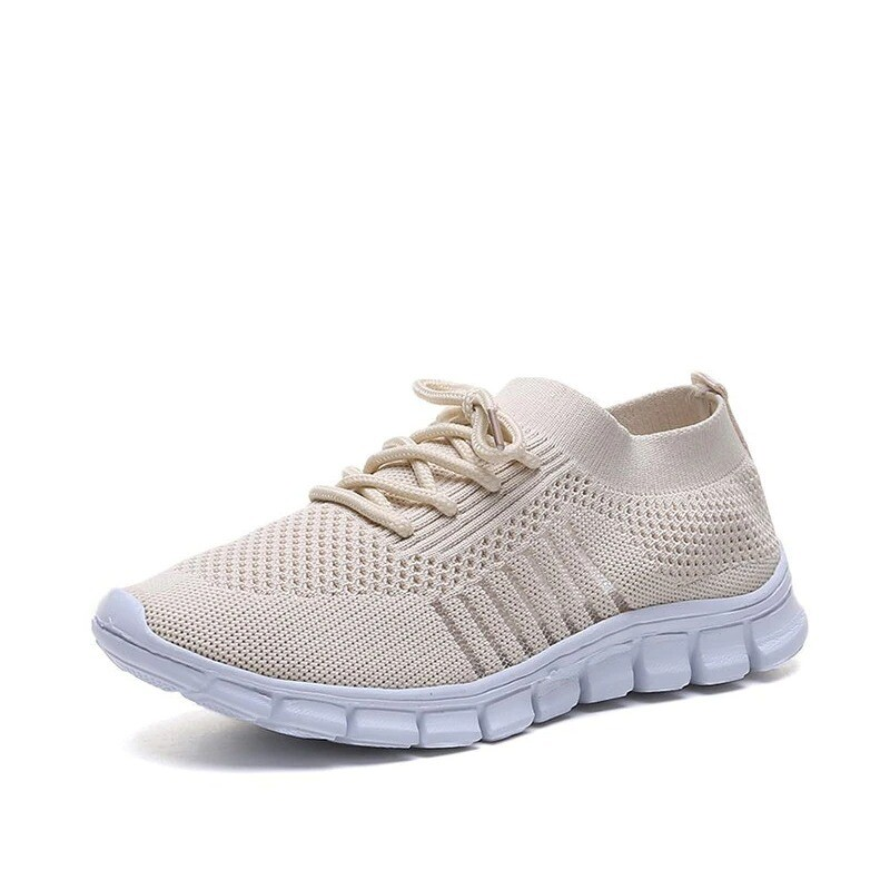 Summer Women Breathable Mesh Hollow Comfortable Casual Shoes