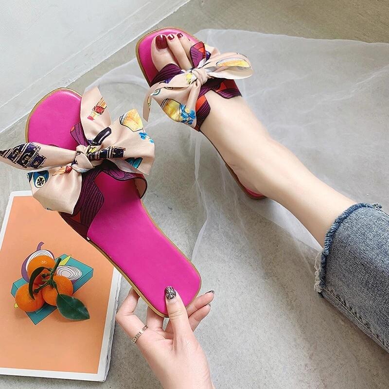 Women Summer Fashion Sandals Slipper Indoor Outdoor Flip-flops