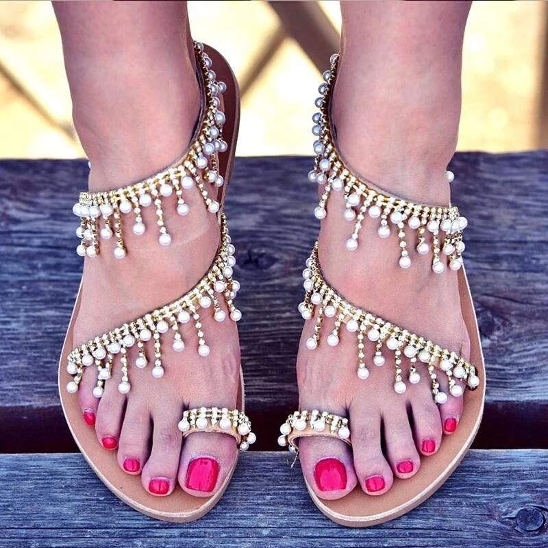 Sandals Summer Beach Slippers for Women Flip Flops
