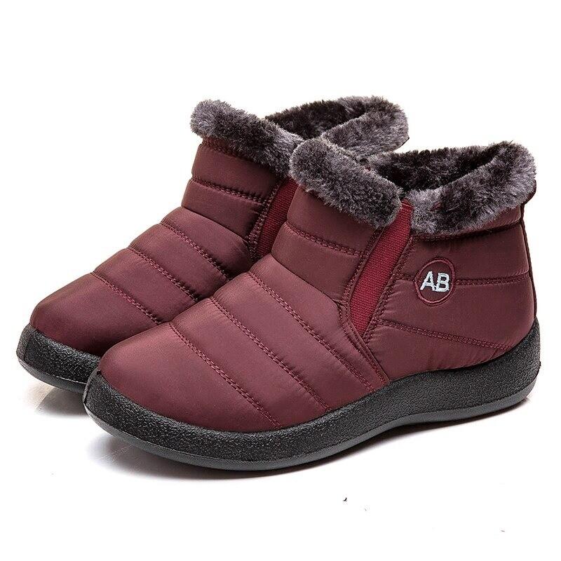 Super Warm & Waterproof Winter Boots Lightweight Ankle