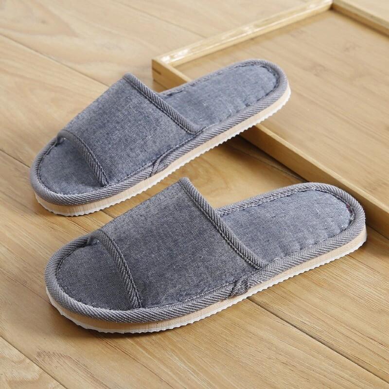 Women Household Slippers Indoor Floor Summer Mute Sandals