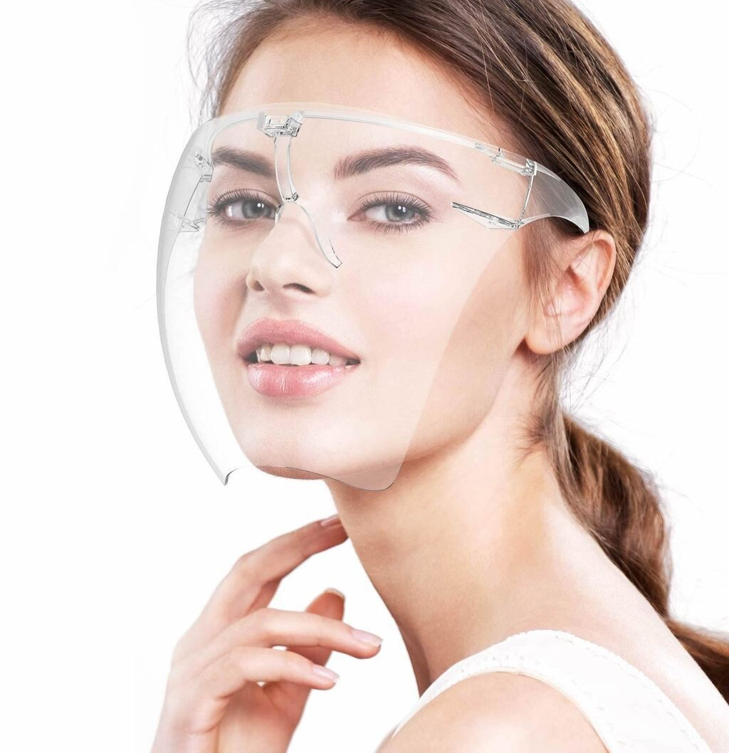 High Transparency Reusable Transparent Face Shield Safety Glasses Eyewear Protective Clear Anti-fog Safety Goggles for Man and Women