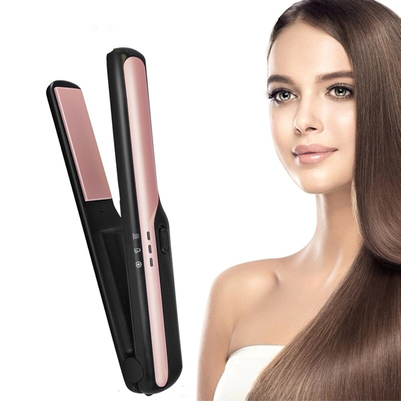 Professional USB Rechargeable Flat Iron Hair Straightener
