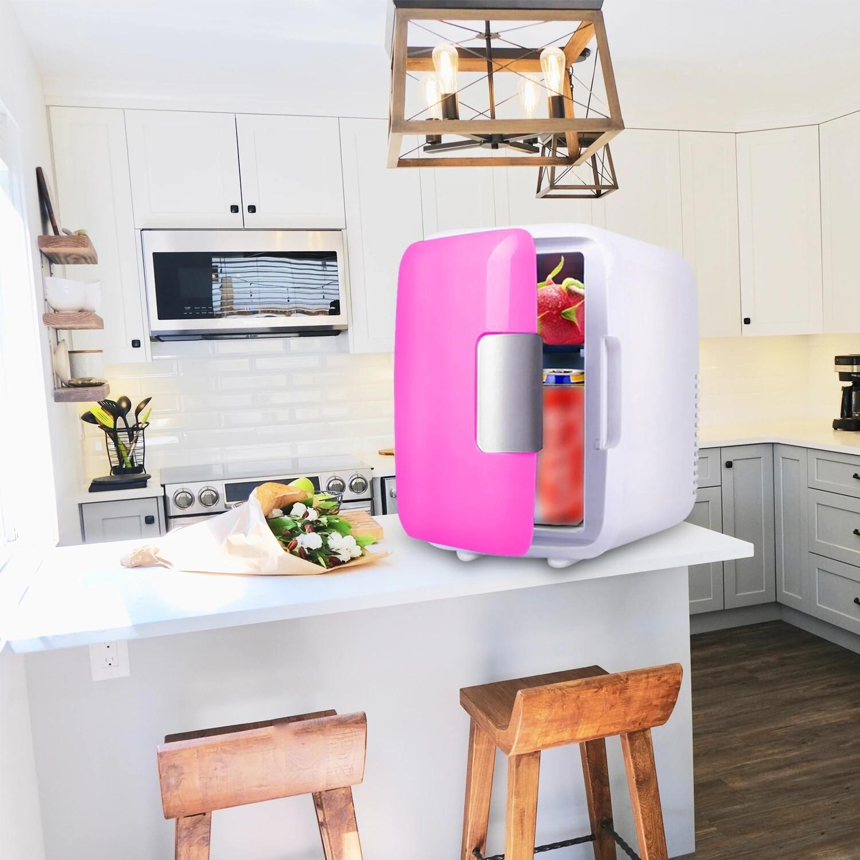 Portable New 4L Mini Fridge Refrigerator Freezer