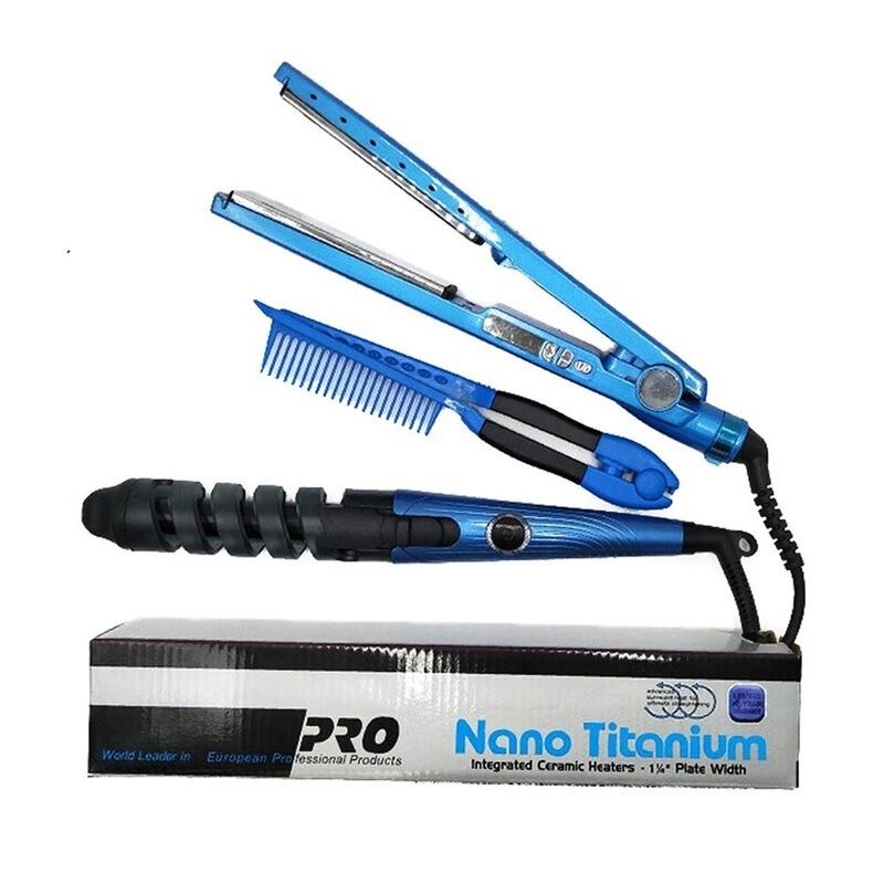 Professional Hair Straightener Iron Hair Curler