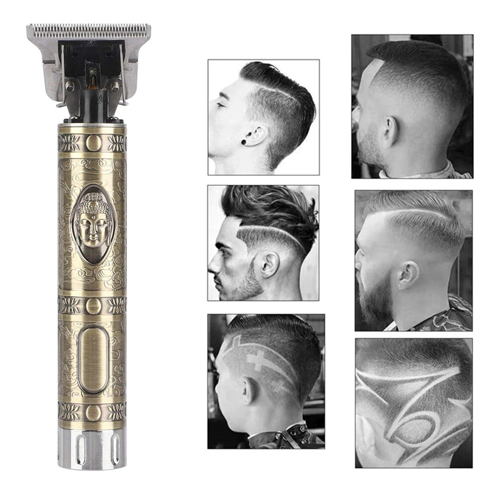 Professional Hair Trimmer Rechargeable Cordless For Men Style 3