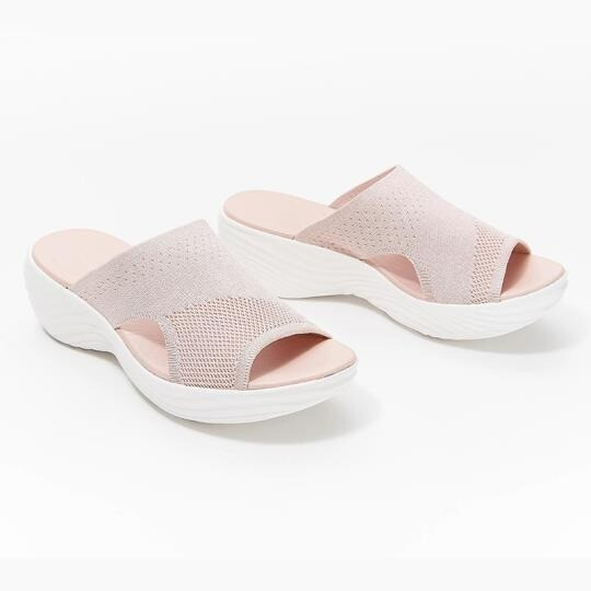 Product Upgrade-Knitted Wedge Sports Corrective Sandals