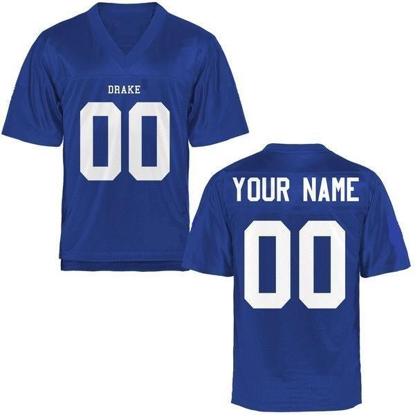 Drake Bulldogs Style Customizable Football Jersey