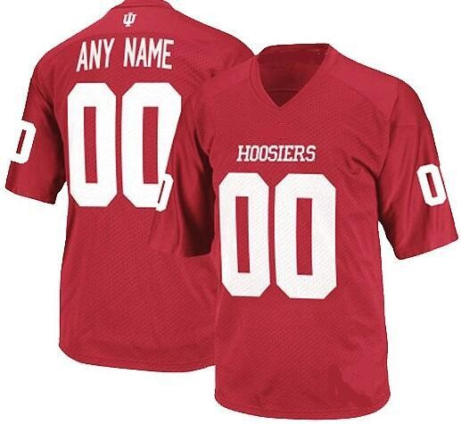 Indiana Hoosiers Customizable College Football Jersey Style 1