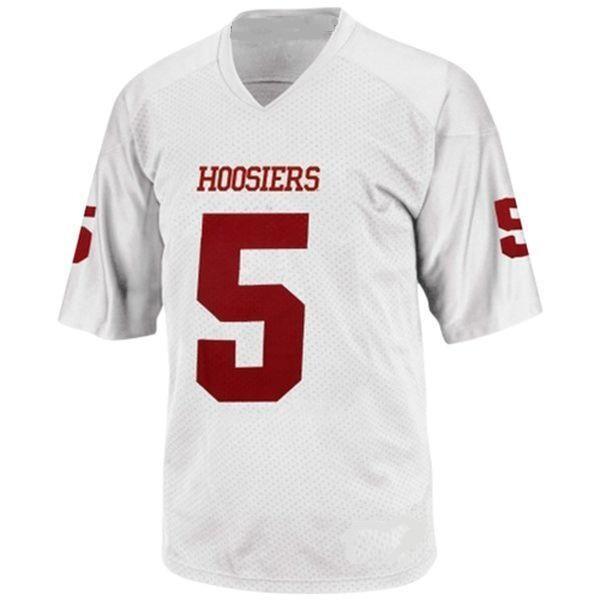 Indiana Hoosiers Customizable College Football Jersey Style 2