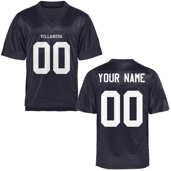 Villanova Wildcats Style Customizable Football Jersey
