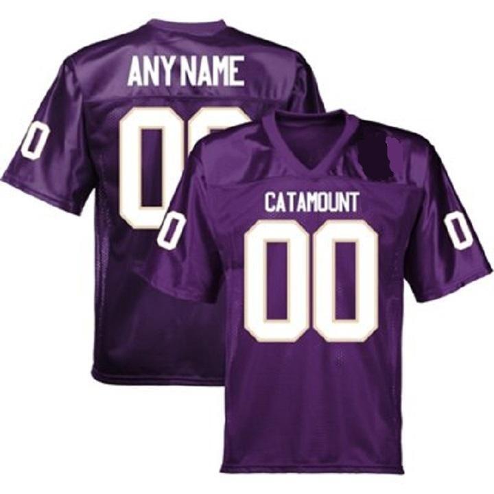 Western Carolina Catamounts Style Customizable Football Jersey