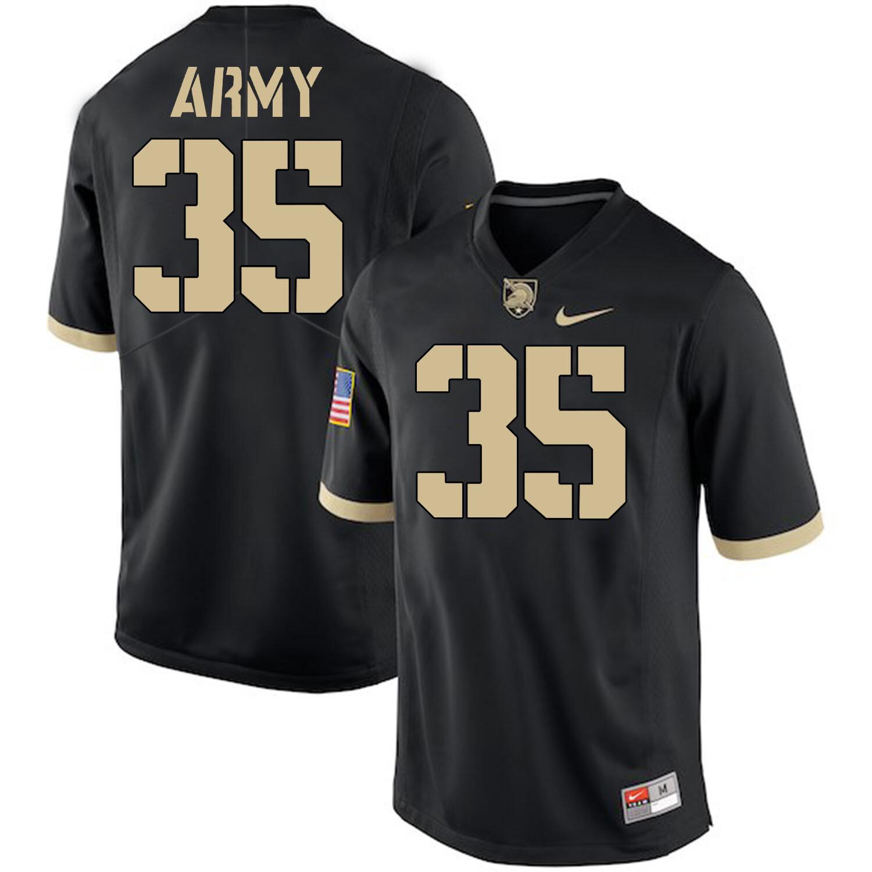 Army Black Knights #35 Doc Blanchard Jersey Black College Football