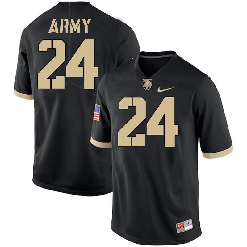Army Black Knights #24 Pete Dawkins Jersey Black College Football