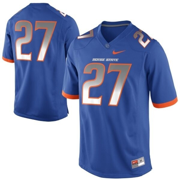Boise State Broncos #27 Jay Ajayi College Football Jersey Blue