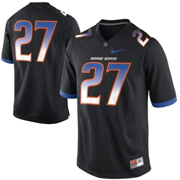 Boise State Broncos #27 Jay Ajayi College Football Jersey Black