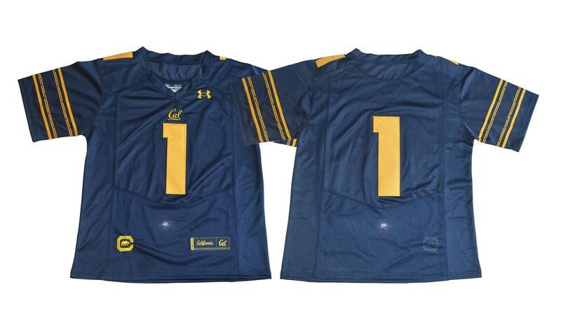 California Golden Bears #1 Blue Under Armour College Football Jersey