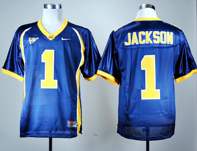 California Golden Bears #1 DeSean Jackson NCAA Football Jersey Blue