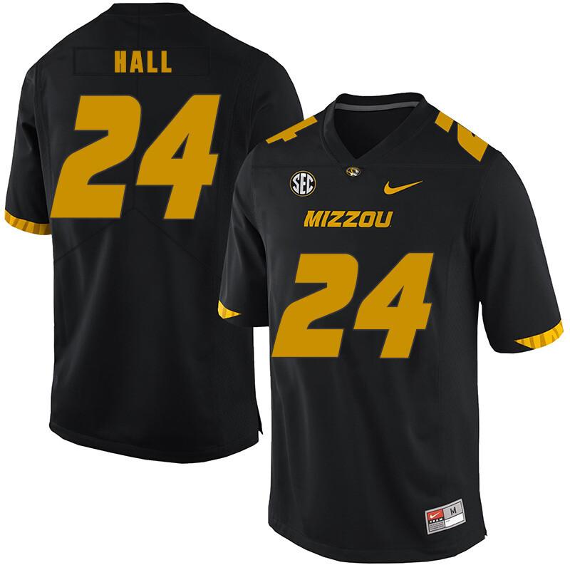 Missouri Tigers #24 Terez Hall NCAA College Football Jersey Black