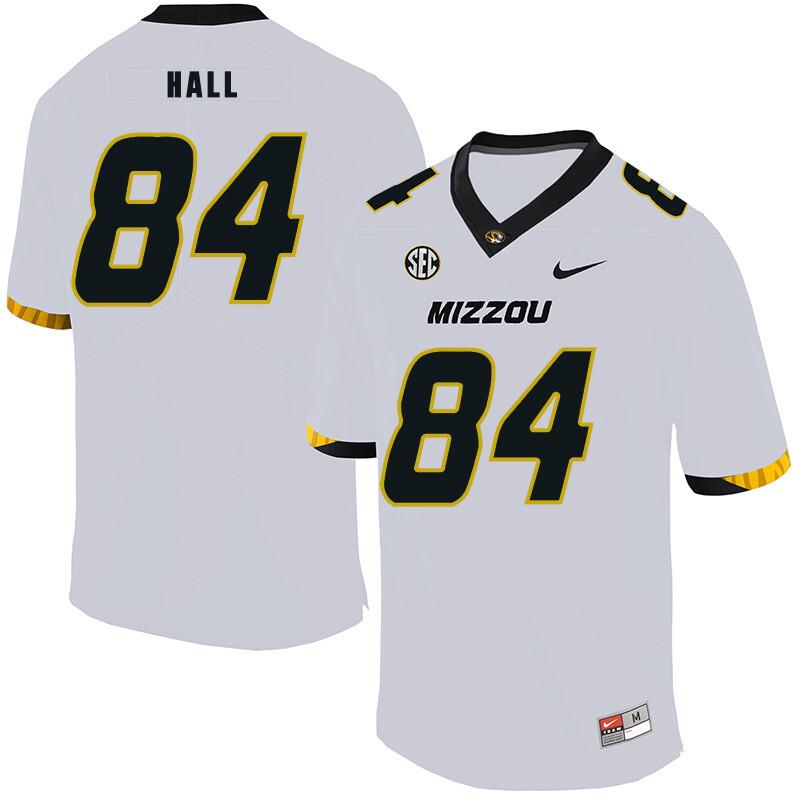 Missouri Tigers #84 Emanuel Hall NCAA College Football Jersey White