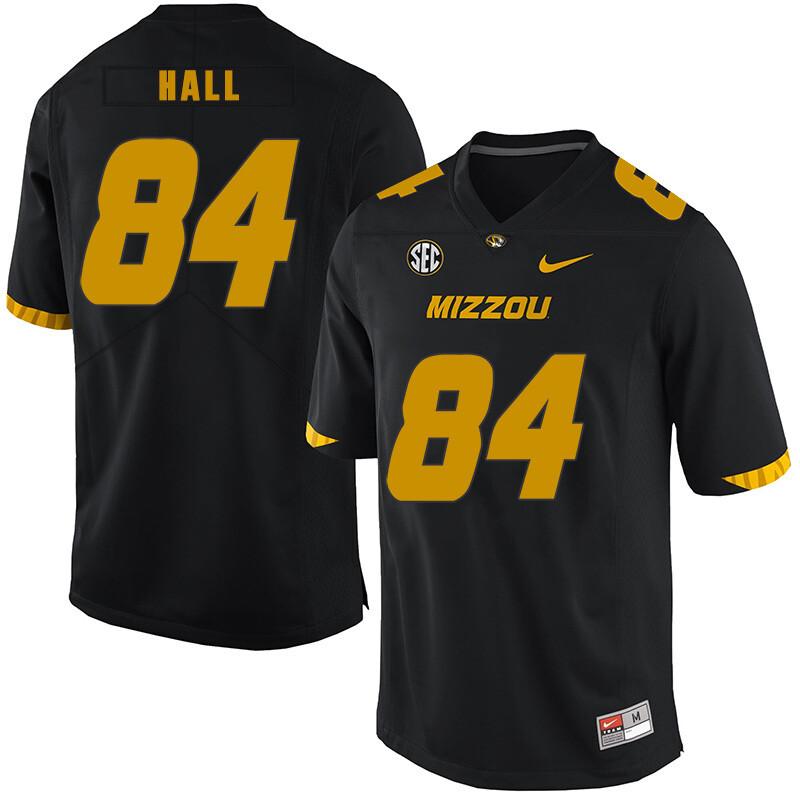 Missouri Tigers #84 Emanuel Hall NCAA College Football Jersey Black