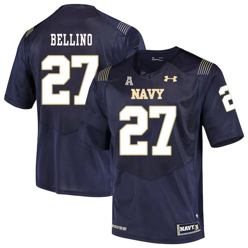 Navy Midshipmen #27 Joe Bellino College Football Jersey Stitched