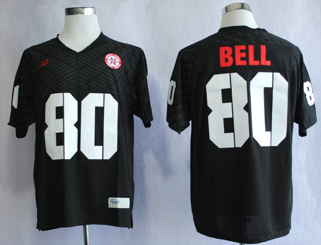 Nebraska Huskers #80 Kenny Bell College Football Jersey Stitched Black