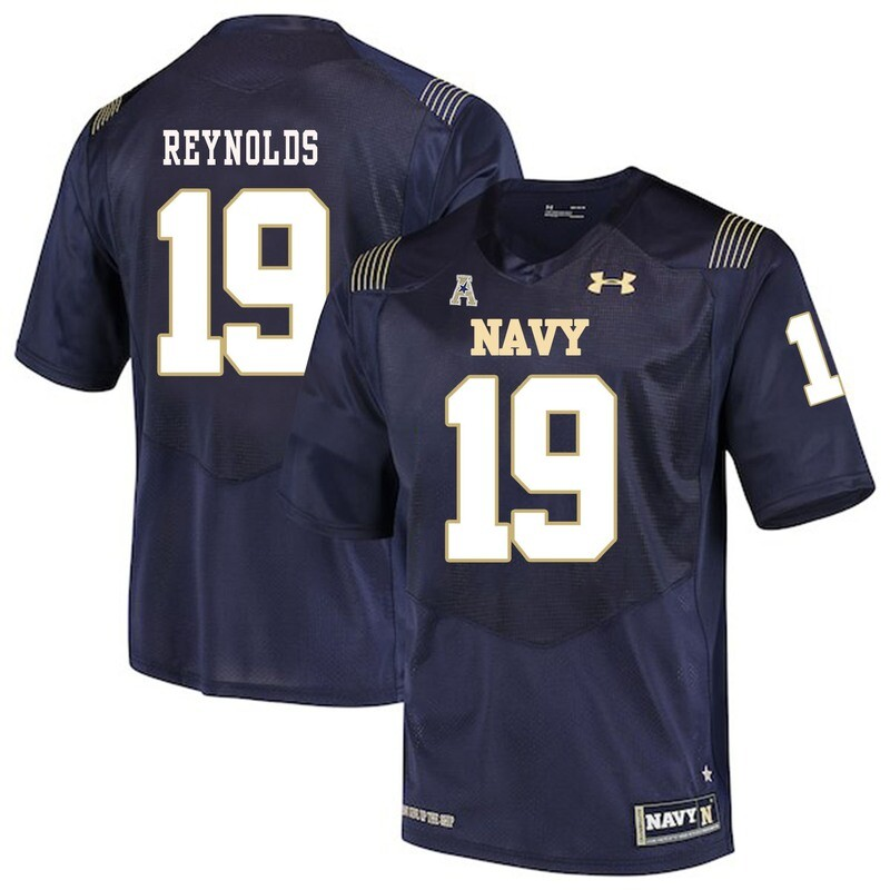 Navy Midshipmen #19 Keenan Reynolds College Football Jersey Stitched
