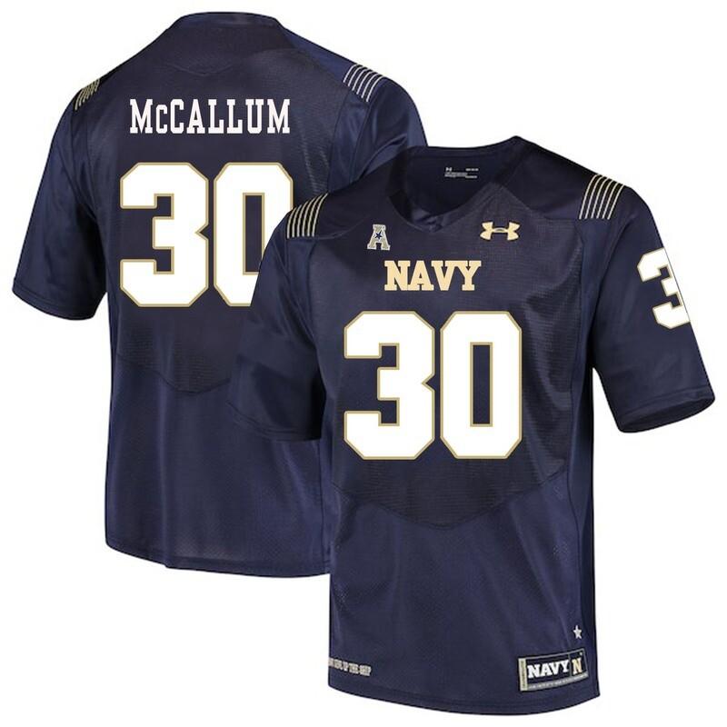 Navy Midshipmen #30 Napoleon McCallum College Football Jersey
