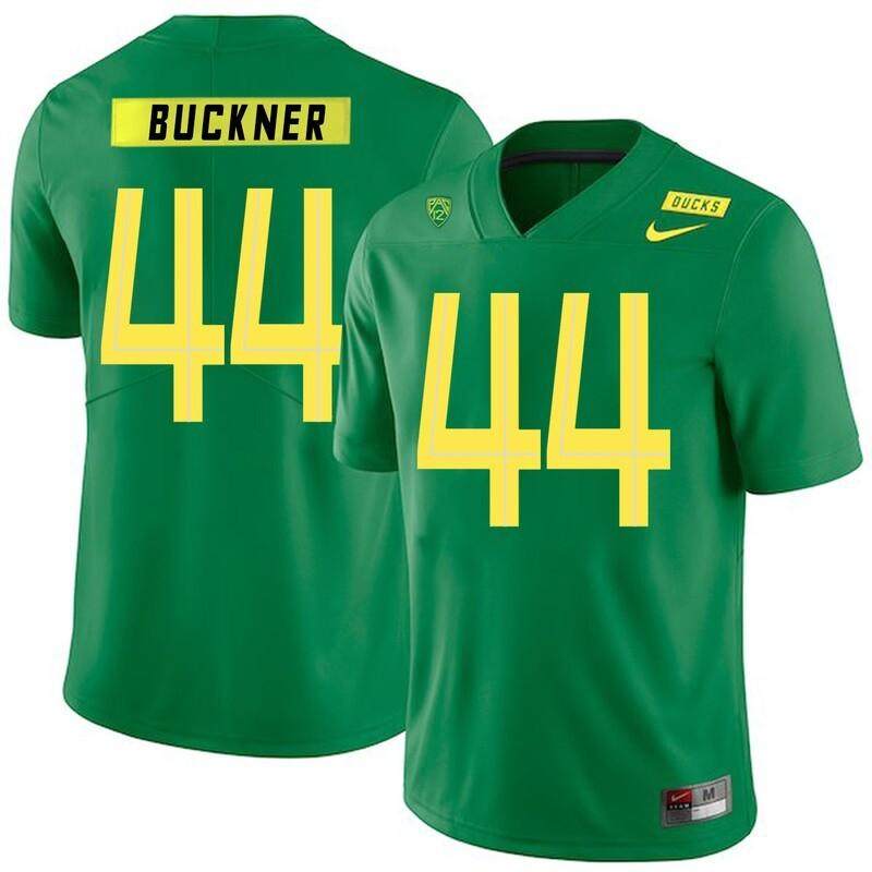 Oregon Ducks #44 DeForest Buckner College Football Jersey Green