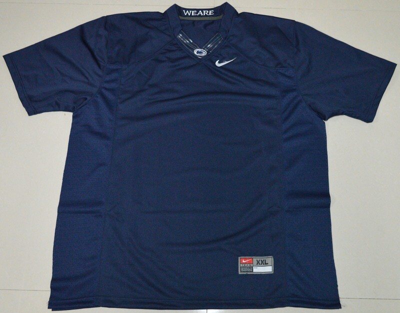Penn State Nittany Lions Blank NCAA College Football Jersey Dark Blue