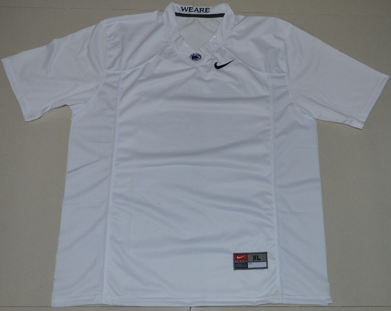 Penn State Nittany Lions Blank NCAA College Football Jersey White