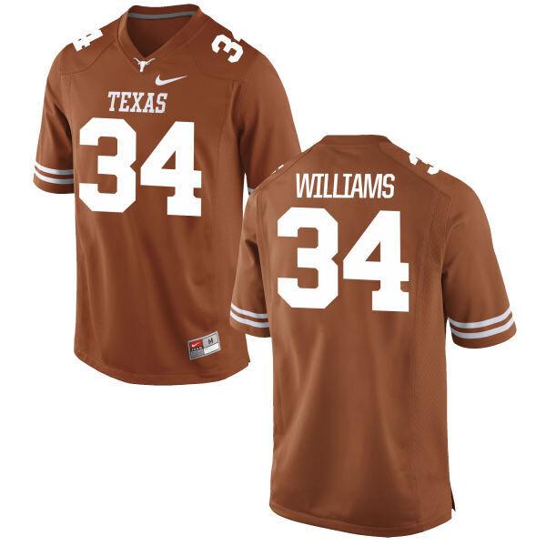 Texas Longhorns #34 Ricky Williams College Football Jersey Dark Orange